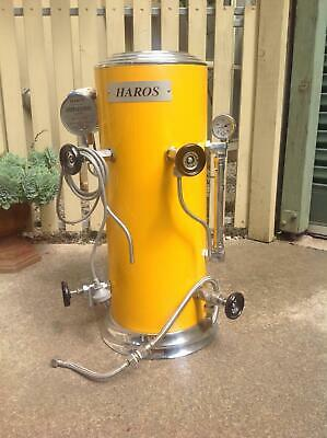 Haros yellow milk steamer in very good condition