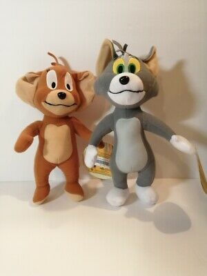 New TOM & JERRY Licensed Plush Stuffed Toys
