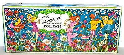 Vintage Topper Dawn Angie Glori Dale Clone Fashion Accessories Doll Case! Lot 1