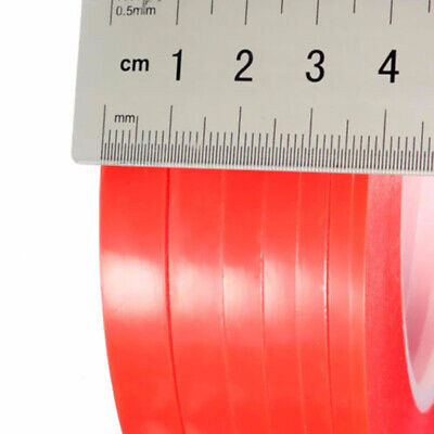 10M RED Double Sided Super Sticky Heavy Duty Adhesive Tape For Cell Phone Repair