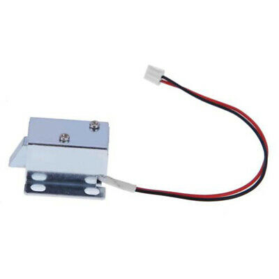 SN/_ WO/_ 6V//12V Cabinet Door Electric Lock Assembly Latch Solenoid for Drawer D