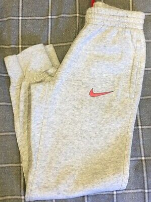Nike Grey Girls Jogging Bottoms Size 8-10 Years