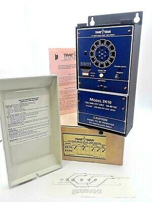 Time Star Model 2410 24-Hr Solid State Time Switch 120/240/277VAC 50-60Hz 16Amp