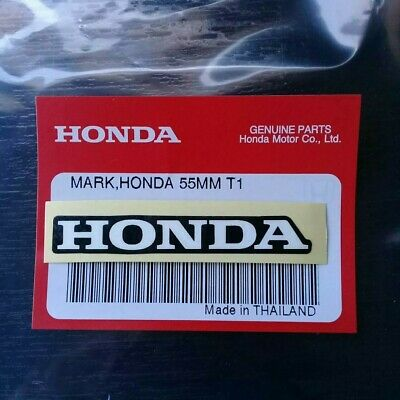 Honda Mark 55mm Black//Red Sticker Decal