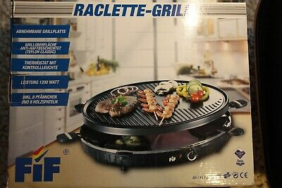 BOMANN rg 2279 CB 2in1 raclette-grill barbecue nature pierre barbecue grill électrique rg2279
