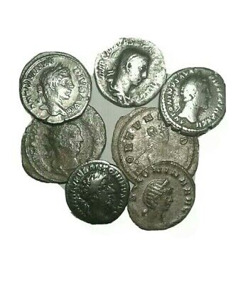Roman Empire Ancient Silver Denarius 27BC-476AD. Rare Rome Denarius Coin Lot