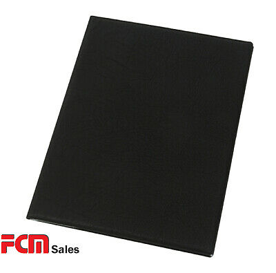 FREE FREIGHT Set 18 BLACK A4 COVER MADE OF FAUX LEATHER bulk buy