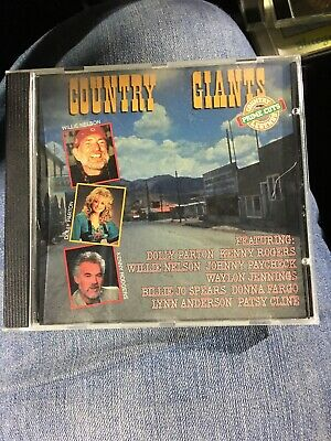 Country Giants Cd Willie Nelson Dolly Parton And Kenny Rogers