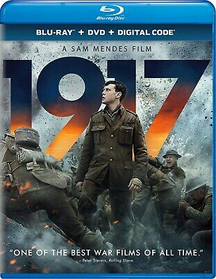 1917 Blu-ray George MacKay NEW