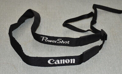 Genuine Canon Powershot camera shoulder strap