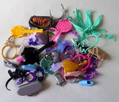 Mixed Lot of Doll Accessories - Barbie, Bratz, Shoes, Bags, Furniture and More