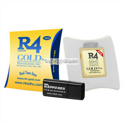 Brand New 2020 R4 Gold Pro SDHC 2ds 3ds NDS NDSI NDSL game card
