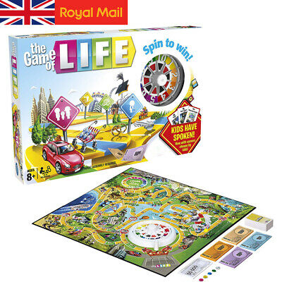 The Game of Life Board Game Fun Card Games Family Party Games 2019 New Edition