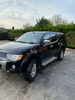 mitsubishi l200 warrior 2009 no vat.
