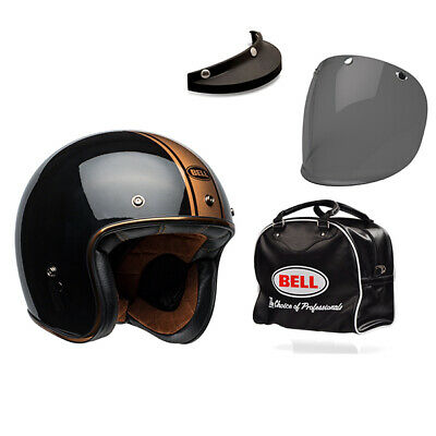 Bell Custom 500 DLX Rally Black Bronze FREE UK Delivery