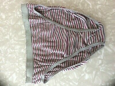 Vintage Victorias Secret Hi Leg Panty - 80's, Size Medium
