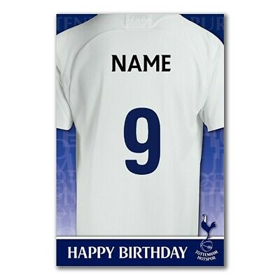 Tottenham Hotspur Fc Birthday Card Spurs Selection Gift 3 45 Picclick Uk