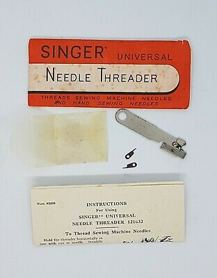 1930's Singer Simanco Sewing Machine Needle Threader 121632 Collectable