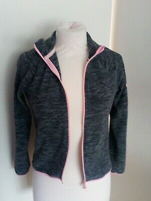 H & M Grey New York Jacket Size Age 10/12 Years Old
