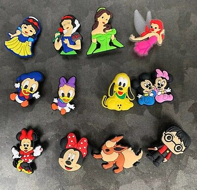 Jibbitz 12 Croc Clog Shoe Plug Button Charms Pokémon Harry Potter Disney Minnie