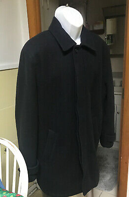 $260.00 Brooks Brothers Size Large Outerwear Navy Wool Blend Zip Jacket PRISTINE