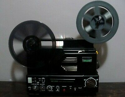 CHINON SOUND SP-350 TWIN TRACK Super 8 Movie Projector  ~SERVICED~