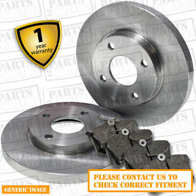 FRONT BRAKE DISCS AND PADS 209 309 211 311 213 313 FITS MERCEDES SPRINTER 2006