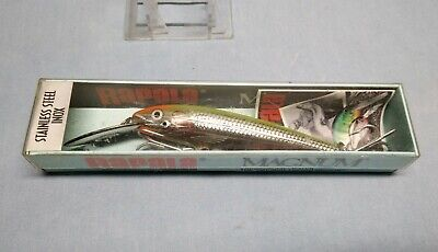 Rapala Coundown Magnum CDMAG-11,Stainless Steel Inix Color:SDG,Made in Ireland