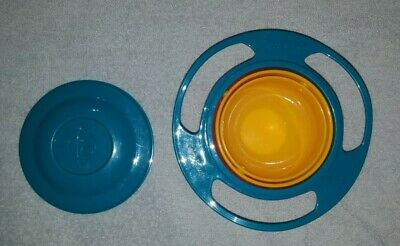 Gyro Bowl~~ Universal 360 Rotate Spill Proof Bowl~~Kids/Infant Feeding Dish~