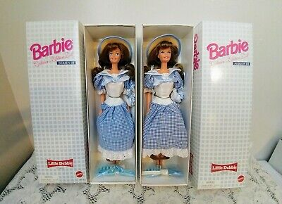 1997 NIB Barbie Doll Little Debbie Collector Edition Series III~ Lot of 2 ~New