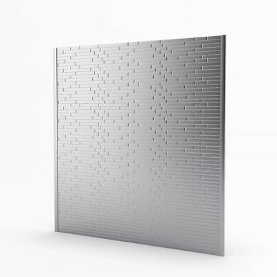 Inoxia SpeedTiles Linox Stainless Metal Self-Adhesive Range Backsplash Mosaic