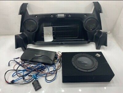 Lotus Elise Exige Ice Bass Box Subwoofer Amp Speakers Uprated Amplifier