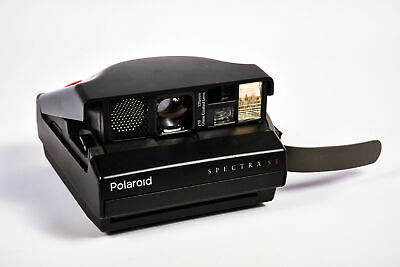 Polaroid Spectra SE Camera With Impossible Project Film Shield (Frog Tongue)