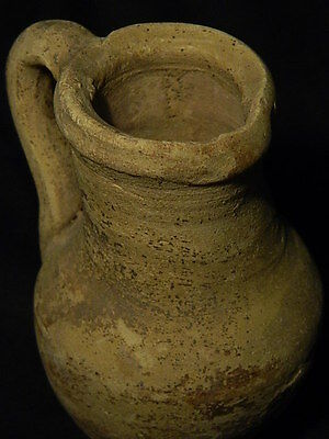 Ancient Large SizeTeracotta Jug Bactrian 300 BC #SG2517