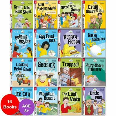 Biff, Chip and Kipper Stage 3 Read with Oxford 5+ 16 Books Collection Set