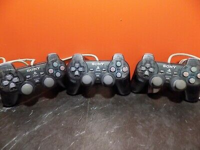 Sony Playstation 1 PSONE PS1 Official Clear Dual Shock Control Pad Controller