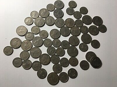 Lot Of Old Great Britain Coins (Gb1)