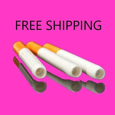"""5 x 3"""" Ceramic Cigarette Pipe One Hitter Tobacco Smoking Dugout Pipe US Seller"""