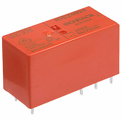 24VDC 8A//250VAC 8A//30VDC 8A TE Co 1-1393243-0 Relay electromagnetic DPDT Ucoil