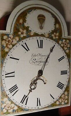 "Antique Mahogany Balloon  Dial "" Bromyard ""  Longcase / Grandfather Clock"