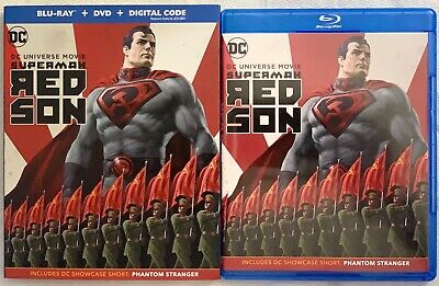 Dc Superman Red Son Blu Ray Dvd 2 Disc Set + Slipcover Sleeve Free Shipping Buy