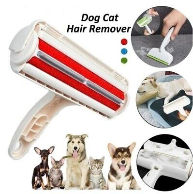 Pet Hair Remover Roller Reusable Dog Cat Fur Sofa Clothes Lint Cleaning Brushes