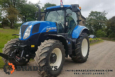 2013 New Holland T7.210 4280hrs Hi Spec Front Linkage and PTO Farm Tractor