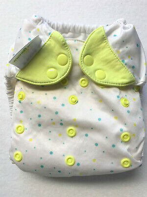Boy Dots 4.0 in EUC Pocket Cloth Diaper Bumgenius Babies R Us Print
