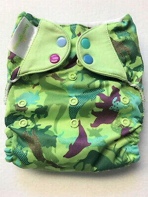 Irwin 4.0 EUC Cloth Diaper Bumgenius Pocket Diaper - multicolored snaps