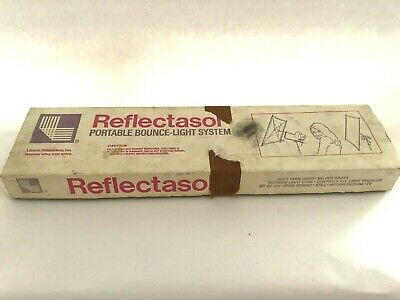 VINTAGE ~ Larson Reflectasol Bounce System ~ TR36C~ IN ORGiNAL BOX