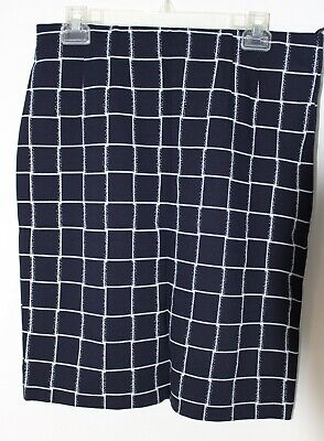 Amanda + Chelsea Blue Stretch Pencil skirt size 12 new no tags