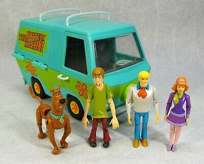 Scooby-Doo The Mystery Machine With The Gang Figures Hanna Barbara