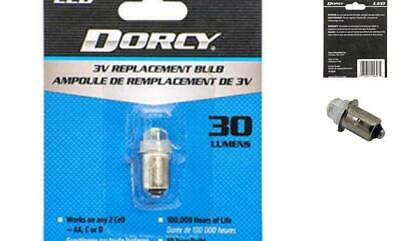 Dorcy 30-Lumen 3-Volt LED Replacement Bulb with 10-year Lifespan 41-1643