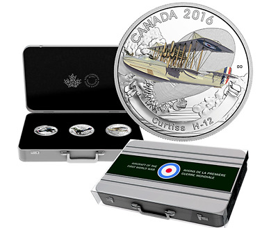 2016 RCM: Aircraft of the First World War: 3 -$20 coins, AMAZING sold out series